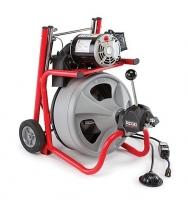 Электромеханическая прочистная машина со спиралью 10, 12 мм RIDGID K 400  - ПРОМТЕХНОЛЭНД